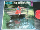 THE CHORDETTES - LISTEN / 1955 US ORIGINAL MONO LP