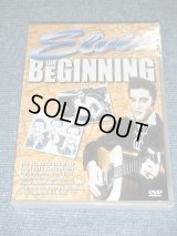 ELVIS PRESLEY - THE BEGINNING  / 2003 UK ORIGINAL REGION 0 PAL SYSTEM Brand New SEALED  DVD
