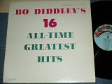 BO DIDDLEY - BO DIDDLEY'S 16 GREATEST HITS ( Ex++/Ex+++ ) / LATE 1960's US ORIGINAL 2nd Press Sky Blue Label Used MONO LP