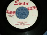 "DANNY and The JUNIORS -  TWISTIN' U.S.A./A THOUSAND MILES AWAY  ( Ex++/Ex++ )   / 1960 US ORIGINAL Used 7"" Single"