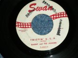 "DANNY and The JUNIORS -  TWISTIN' U.S.A./A THOUSAND MILES AWAY  ( Ex/Ex )   / 1960 US ORIGINAL Used 7"" Single"