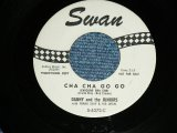 "DANNY and The JUNIORS - CHA CHA GO GO  ( Ex++/Ex++ )   / 1961 US ORIGINAL White Label PROMO  Used 7"" Single"