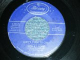 "LESLEY GORE  - JUDY'S TURN TO CRY / 19?? US AMERICA REISSUE ""CELEBRITY SERIES "" Used 7"" inch Single"