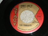 "THE TORKAYS - I DON'T LIKE IT / 1963 US AMERICA Original Used 7"" inch Single"