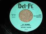 "RITCHIE VALENS - LA BAMBA ( Ex+/Ex+ ) / 1958 US ORIGINAL Lime Green Label 7"" Single"