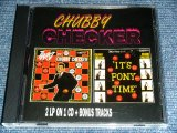 CHUBBY CHECKER - TWIST WITH + IT'S PONY TIME ( 2LP on 1 CD + Bonus Tracks )  / 1998 HUNGARY ORIGINAL Brand New CD ( Press CD )