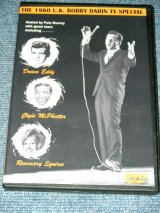 BOBBY DARIN (With DUANE EDDY,CLYDE McPHATTER,ROSEMARY SQUIRES ) - THE 1960 U.K.BOBBY DARIN TV SPECIAL   / EU ALL REGION FREE Brand New DVD-R