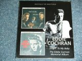 EDDIE COCHRAN - SINGIN' FOR MY BABY + MEMORIALO ALBUM  ( 2in 1) / 2009 UK ORIGINAL Brand New SEALED CD