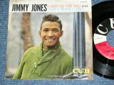 "JIMMY JONES - I JUST GO FOR YOU / 1960 US AMERICA ORIGINALIE Used 7"" inch Single  With PICTURE SLEEVE"