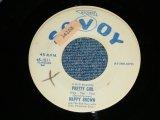 """NAPPY BROWN - PRETTY GIRL ( Ex++/Ex++ ) / 1957 US AMERICA  ORIGINAL PROMO Used 7"""" SINGLE"""