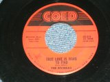 """The RIVIERAS - OUE LOVE/TRUE LOVE IS HARD TO FINE ( VG+++/VG+++ ) / 1959 US AMERICA  ORIGINAL Used 7"""" SINGLE"""