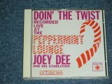 JOEY DEE and The STARLITERS - DOIN' THE TWIST RECORDED LIVE AT The PEPPERMINT LOUNGE  / 1994 WEST-GERMANY  Used CD