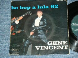 """画像1: GENE VINCENT - BE BOP A LULA 62  / 1952 FRANCE ORIGINAL 7""""EP With PICTURE SLEEVE"""