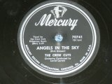 The CREW-CUTS - ANGELS IN THE SKY  / 1955 US AMERICA  ORIGINAL Used  78rpm SP