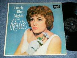 画像1: ROSIE - LONELY BLUE NIGHTS with ROSIE (Ex++/Ex+++ A-3,4,5:Ex EDSP) / 1961 US AMERICA ORIGINAL MONO Used LP