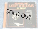 LARRY WILLIAMS - ON STAGE + GREATEST HITS ( 2 in 1 ) / 2011 UK ENGLAND Brand New CD