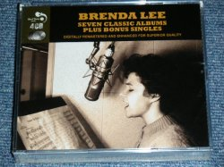 画像1: BRENDA LEE - SUPER CLASSIC ALBUMS PLUS BONUS SINGLES  / 2013 EUROPE Brand New SELAED 4-CD's SET  CD