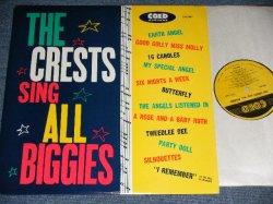 画像1: THE CRESTS - SING ALL BIGGIES  / 1980's Reissue MONO Used LP