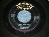 "THE RAINDROPS - THAT BOY JOHN  ( Ex/Ex ) / 1963 US ORIGINAL Used 7"" SINGLE"