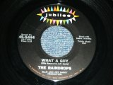 "THE RAINDROPS - WHAT A GUY ( 1st Debut Single :Ex+++/Ex+++) / 1963 US ORIGINAL 7"" SINGLE"