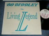 BO DIDDLEY - LIVING LEGEND / 1989  FRANCE FRENCH ORIGINAL Brand New LP  found Dead Stock