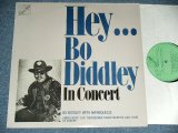 BO DIDDLEY - HEY...BO DIDDLEY IN CONCERT  / 1986 UK ENGLAND ORIGINAL Brand New LP  found Dead Stock