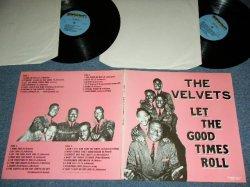画像1: THE VELVETS - LET THE GOOD TIMES ROLL / 1980's EUROPE Used 2-LP