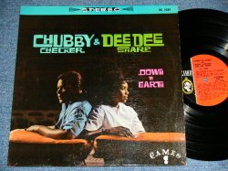 画像1: CHUBBY CHECKER & DEE DEE SHARP - DOWN & EARTH / 1962 US AMERICA ORIGINAL STEREO Used LP
