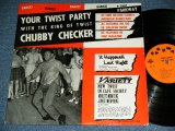 "CHUBBY CHECKER -  YOUR TWIST PARTY  ( 1st press ""ORANGE Label"" : Ex++/Ex Looks:Ex- )   / 1961 US AMERICA ORIGINAL 1st Press Label MONO Used LP"
