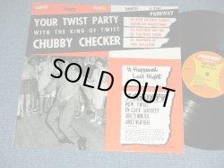 """画像1: CHUBBY CHECKER -  YOUR TWIST PARTY  ( 2nd press """"ORANGE&YELLOW Label"""" : MINT-/MINT-- )   / 1961 US AMERICA ORIGINAL 2nd Press Label MONO Used LP"""
