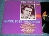 EDDIE COCHRAN - NEVER TO BE FORGETTEN ( Ex/Ex++ ) /1962 US ORIGINAL mono Used LP