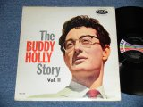 "BUDDY HOLLY  - The BUDDY HOLLY STORY vol.ii 2 ( Ex++/Ex+++)  / 1963 US REISSUE ""BLACK with COLOR BAR LABEL"" MONO  Used LP"