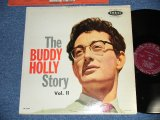 "BUDDY HOLLY  - The BUDDY HOLLY STORY vol.ii 2 ( Ex+/Ex++ )  / 1959 US ORIGINAL ""MAROON  LABEL"" MONO  Used LP"