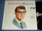 "BUDDY HOLLY  -  SHOWCASE  ( MINT-/MINT- )  / 1964 US ORIGINAL ""BLACK with COLOR BAR LABEL"" STEREO  Used LP"