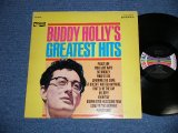"""BUDDY HOLLY - GREATEST HITS  ( Ex++,Exc/Ex++ Looks:Ex+ ) /  1967 US AMERICA ORIGINAL """"MULI COLOR BAR on LABEL"""" STEREO Used  LP"""