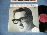 """BUDDY HOLLY  - The BUDDY HOLLY STORY ( VG++/Edx- Looks:VG+ )  / 1959 US ORIGINAL """"1st press RED&BLACK Printed on Back Cover / MAROON  LABEL"""" MONO  Used LP"""
