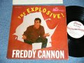 FREDDY CANNON - THE EXPLOSIVE!(1st DEBUT ALBUM : Ex/Ex+++ :Looks:Ex+ ) / 1960  US AMERICA ORIGINAL MONO Used LP