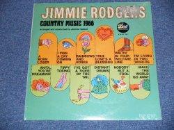 """画像1: JIMMIE RODGERS - COUNTRY MUSIC 1966 / 1966 US AMERICA  ORIGINAL """"Brand New Sea+led"""" LP"""
