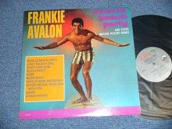 """画像1: FRANKIE AVALON - MUSCLE BEACH PARTY ( GARY USHER Works : Ex++/MINT- ) / 1980's US REISSUE """"10 Tracks Version ) Used  LP"""