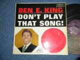 "BEN E. KING ( of THE DRIFTERS ) - DON'T PLAY THAT SONG ( Ex++,Ex+/Ex  Looks:VG+++)/ 1962 UK ENGLAND ORIGINAL ""MONO"" Used LP"