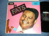 """FATS DOMINO - THIS IS FATS ( Ex+/Ex++)  / 1958 Version  US AMERICA 2nd Press """"5 STARS Label""""  MONO Used  LP"""