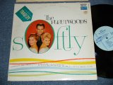 "THE FLEETWOODS -  SOFTLY  (Ex+/Ex++) / 1960 US ORIGINAL ""1st Press LIGHT BLUE Label""  MONO Used  LP"