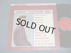 """画像1: JOHNNY TILLOTSON - JOHNNY TILLOTSON's BEST ( Ex+/Ex+++)  / 1962 Version  US AMERICA ORIGINAL 2nd Press """"RED with BLACK RING"""" Label Stereo Used LP"""