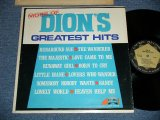 "DION -  MORE  GREATEST HITS : CAPITOL Record Club Released (Ex++/MINT-) /  1967? US AMERICA ""Record Club Issued"" MONO Used LP"