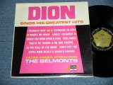 "DION - SINGS HIS GREATEST HITS : CAPITOL Record Club Released (Ex++/Ex) /  1967? US AMERICA ""Record Club Issued"" MONO Used LP"