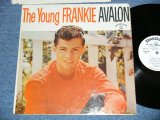 "FRANKIE AVALON - The YOUNG FRANKIE AVALON  ( Ex/Ex++  ) / 1960 US AMERICA ORIGINAL 1st Press ""WHITE Label PROMOl""  MONO Used  LP"