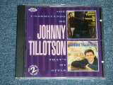 JOHNNY TILLOTSON -  SHE UNDERSTANDS ME + THAT'S AMY STYLE  ( 2 in 1 )  / 1992 UK ENGLAND Used CD