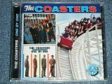 "THE COASTERS - THE COASTERS + ONE BY ONE ( 2 in 1 )  ( SEALED )  / 2004 US AMERICA  ORIGINAL ""BRAND NEW SEALED"" CD"