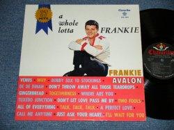 """画像1: FRANKIE AVALON - ..A WHOLE LOTTA FRANKIE (Ex++/Ex ) / 1961 US AMERICA ORIGINAL 1st Press """"BLACK Label""""  MONO Used  LP"""