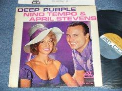 """画像1: NINO TEMPO & APRIL STEVENS - DEEP PURPLE  (Ex+/Ex++ ) / 1963 US AMERICA ORIGINAL """"BROWN & GRAY Label""""  MONO Used  LP"""